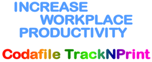 increase workplace productivity with Codafile TrackNPrint